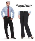 Polyester & Poly/Wool Uniform Pants