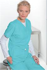 Landau Scrubs - Landau Womens Scrubs Tops - Landau V-Neck Tunic 8219