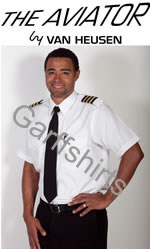 Van Heusen The Aviator Pilot Shirts - 100% Cotton Pilot Shirts, Short Sleeve Pilot Shirts, Long Sleeve Pilot Shirts and Tall Pilot Shirts