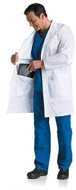 Landau Mens and Womens Lab Coats and Consultation Jackets