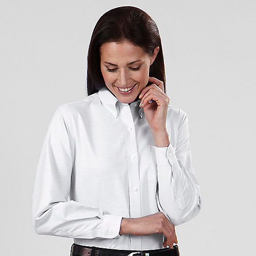 Van Heusen Womens Oxford Dress Shirts Long And Short