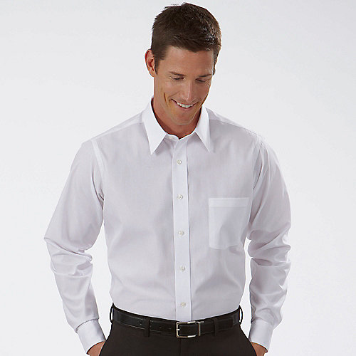 van heusen dress shirts 13v0022 long sleeve mens cotton
