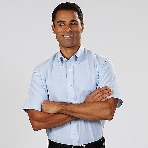 Button down collar dress shirts artee shirt for Van heusen men s regular fit pincord dress shirt