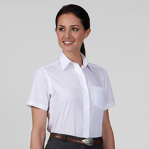 Van Heusen Dress Shirts Long and Short Sleeve Womens Cotton Rich ...