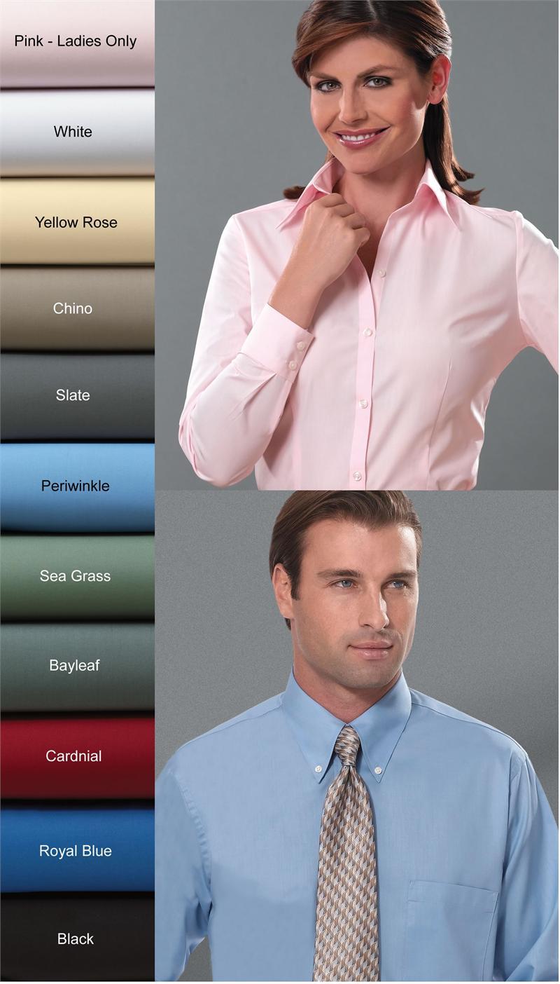 d8e1a1893 Van Heusen Dress Shirts - Mens 13V0113 and Ladies 13V0114 Long ...