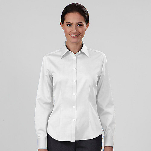 Beautiful Tailored White Poplin Women39s Shirt