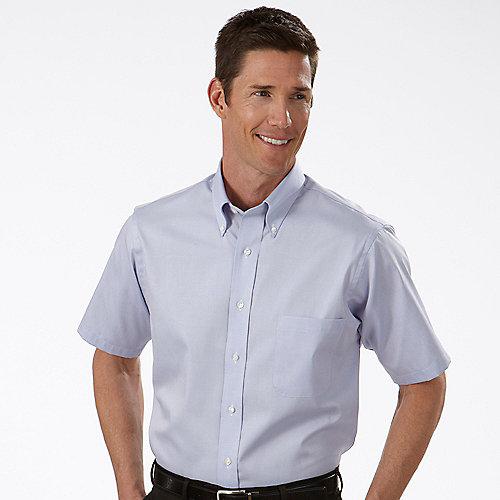 Product Van Heusen Mens White Short Sleeve Dress Shirt