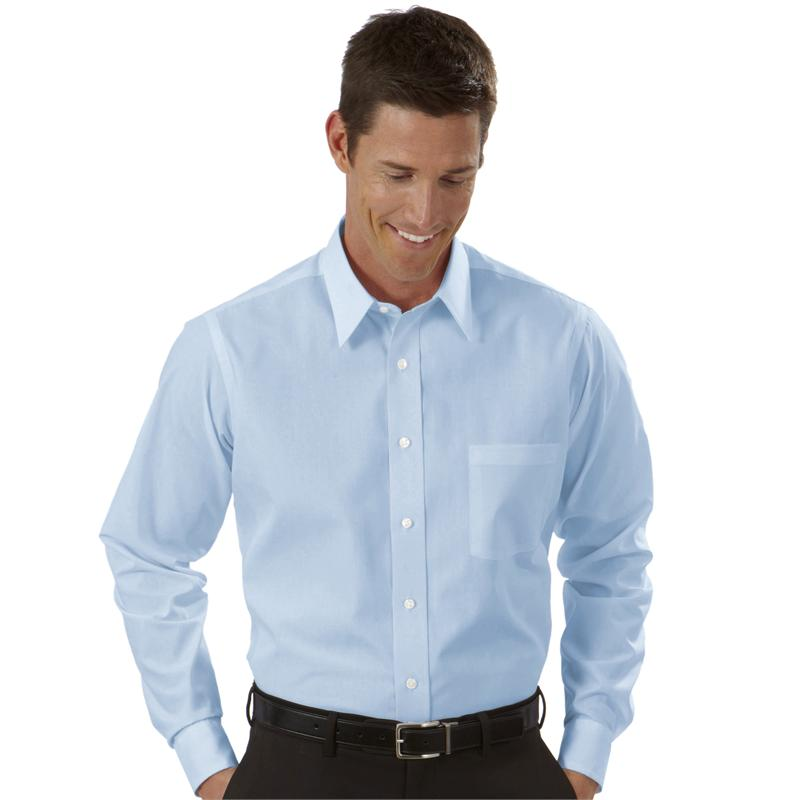 Van heusen dress shirts mens broadcloth long sleeve dress for Van heusen dress shirts