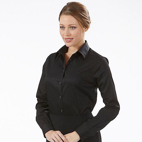 Ladies black dress shirts