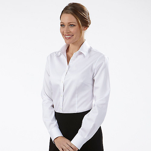 Dressy shirts for women with luxury style in uk for Perfect white dress shirt