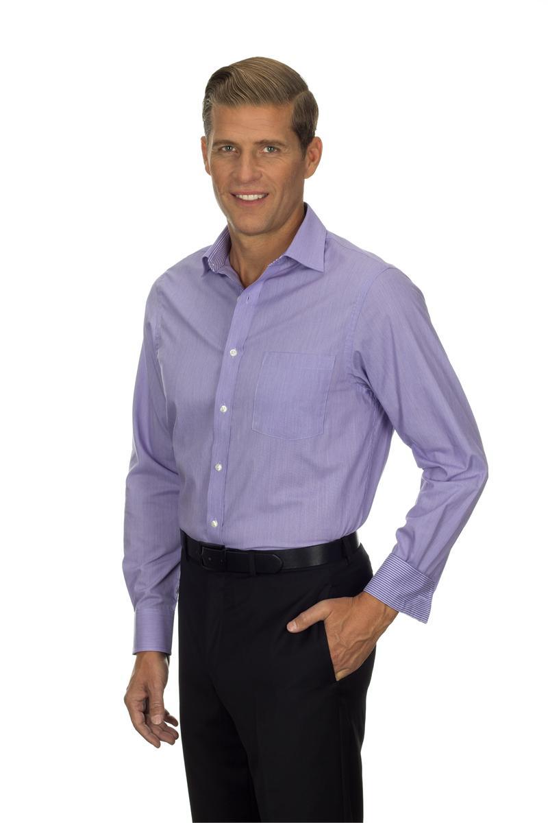 purple long sleeve dress shirts