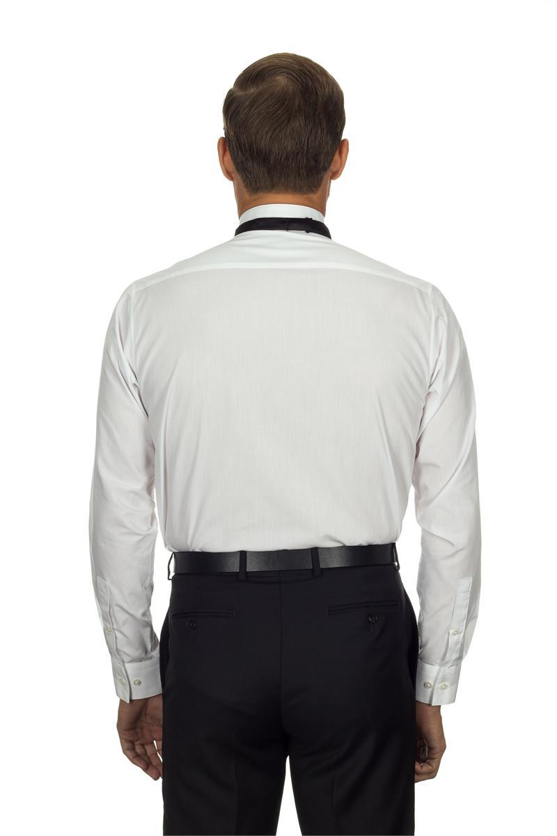 13v0376 van heusen tuxedo shirts mens wing collar formal for Tuxedo shirt vs dress shirt