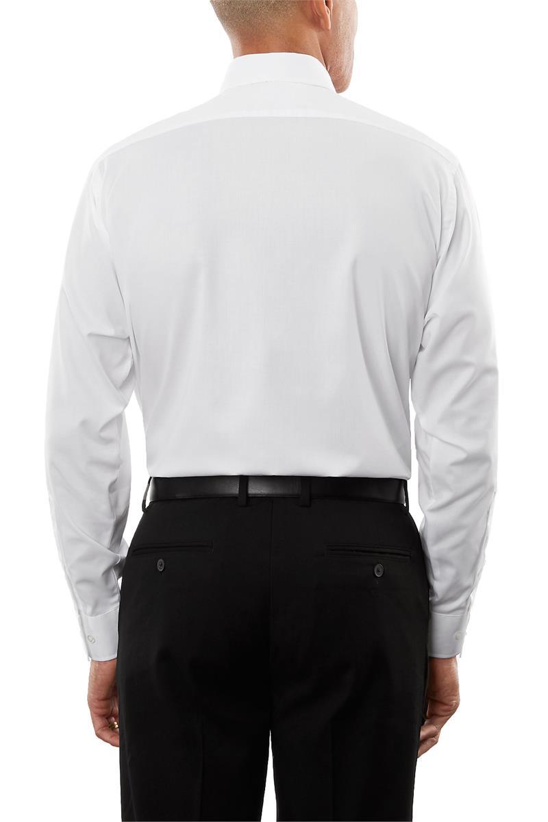 Van Heusen Flex Collar Regular Tek Fit Twill Mens Long