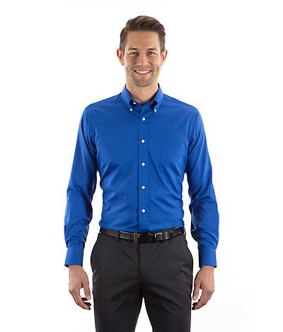 Van Heusen Twill Dress Shirts MENS Long 13V0521 &amp Short 13V0532 ...