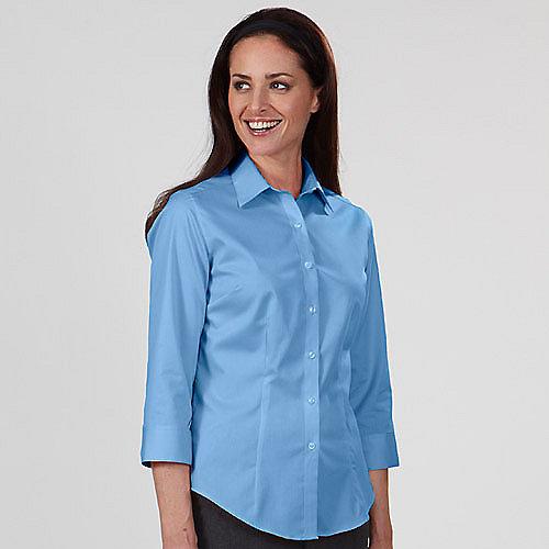 Van heusen twill dress shirts 13v0527 womens 3 4 length for Van heusen dress shirts