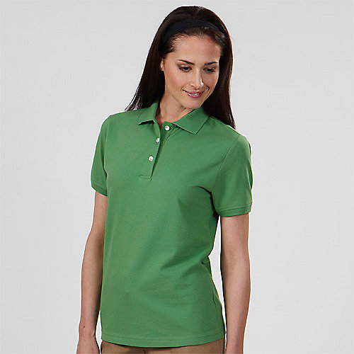 Izod polo shirts 13z0063 izod silkwash stretch pique for Woman s polo shirts