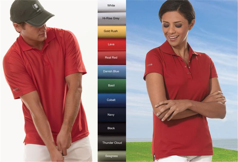 3e2fac55 IZOD Men's 13Z0075 & Ladies' 13Z0081 Performance Pique Polo Shirts.