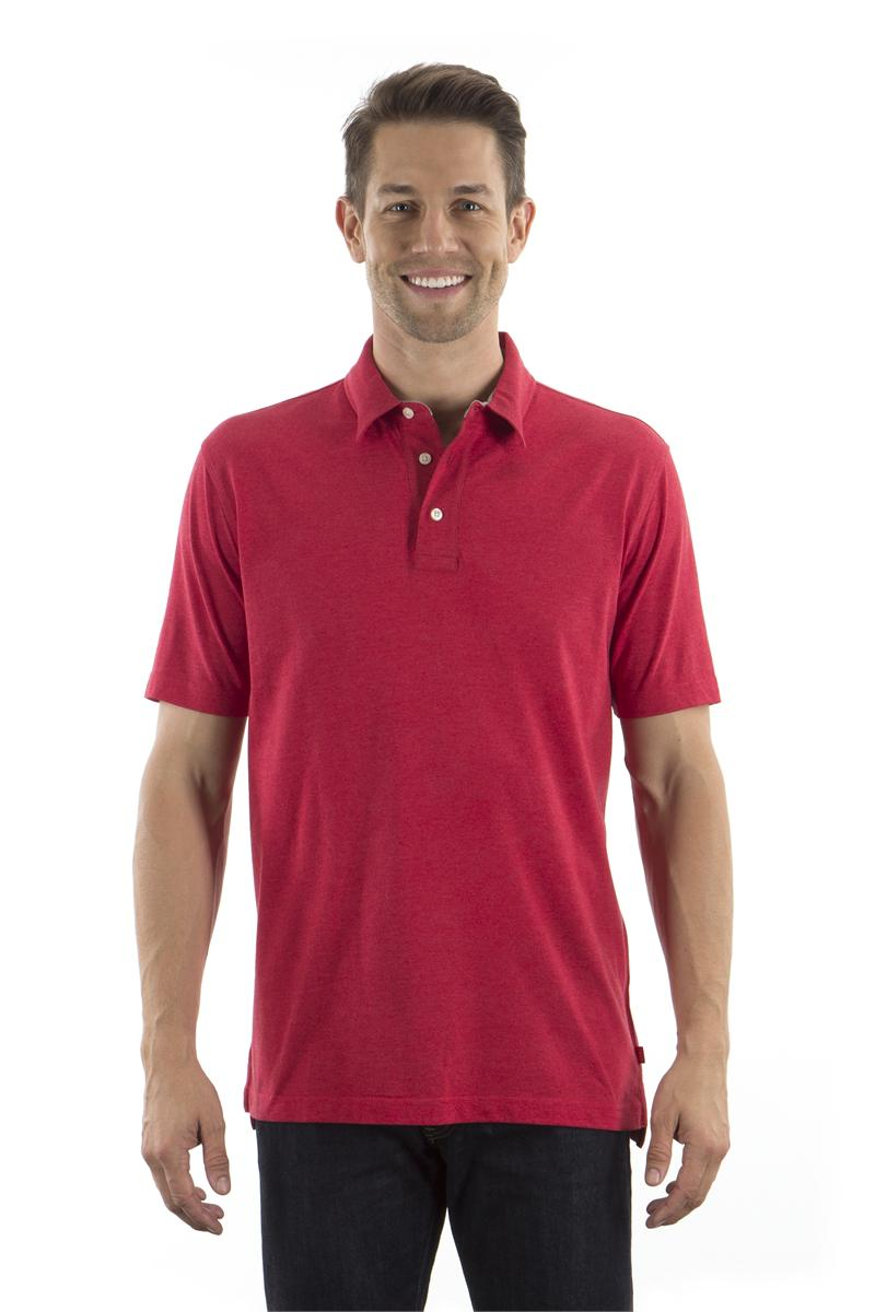 b5e48f43faa Real Red Izod Men's Jersey Polo Shirts.