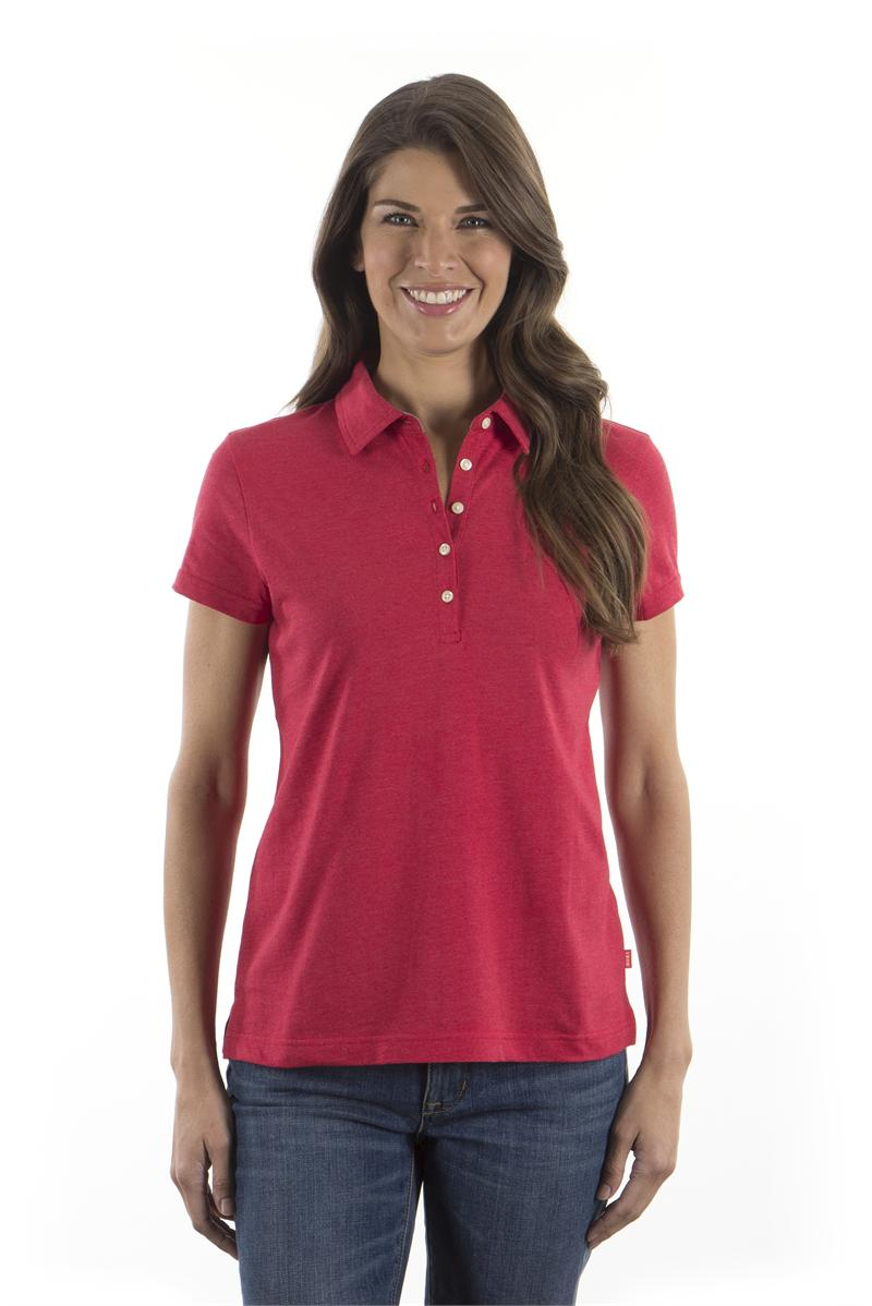 Izod Womens Jersey Polo Shirts
