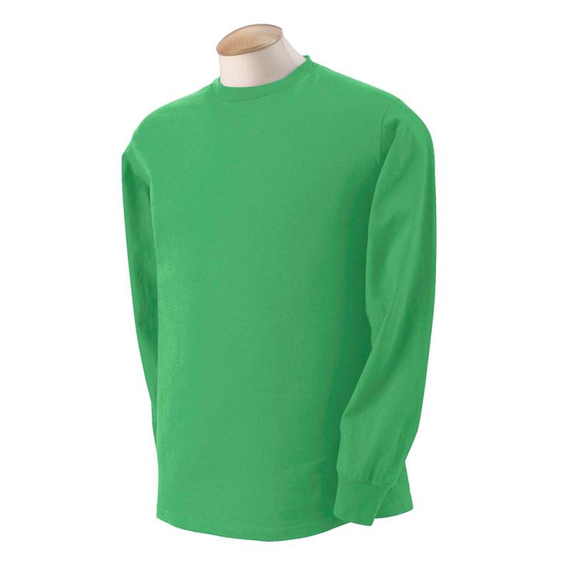 06e72dcacfb 4930 Kelly Green Fruit of The Loom Heavy Cotton HD Long Sleeve Tee Shirts.jpg