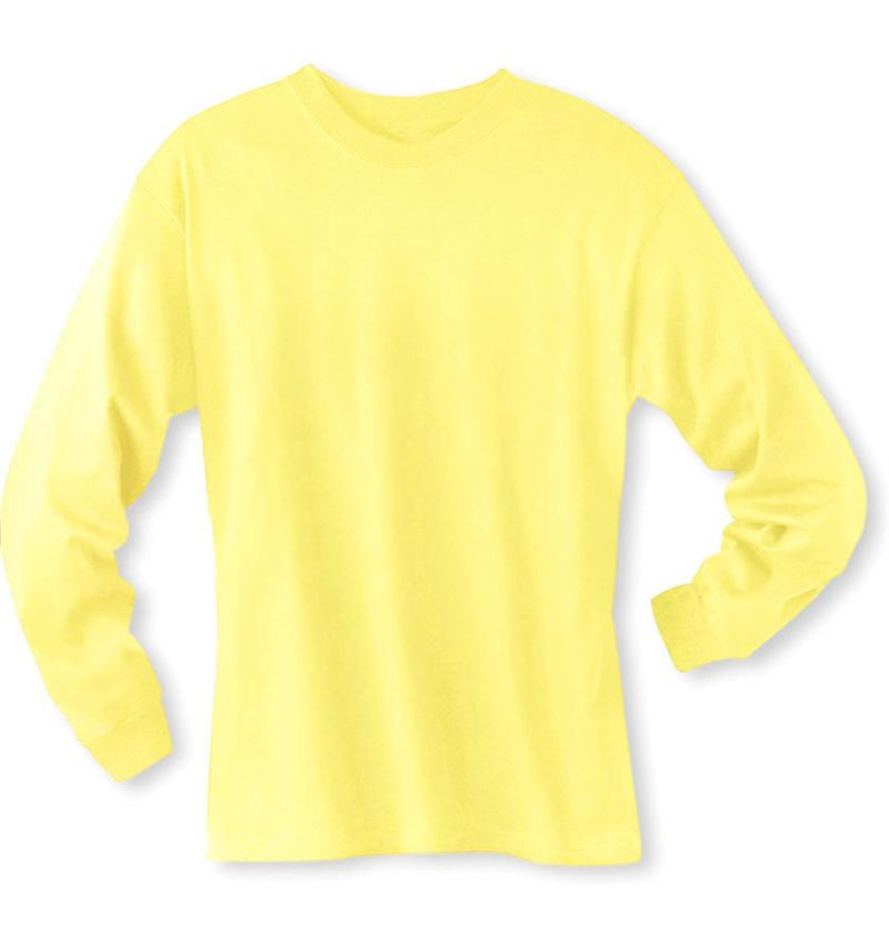 Light Yellow Long Sleeve Shirt Artee Shirt