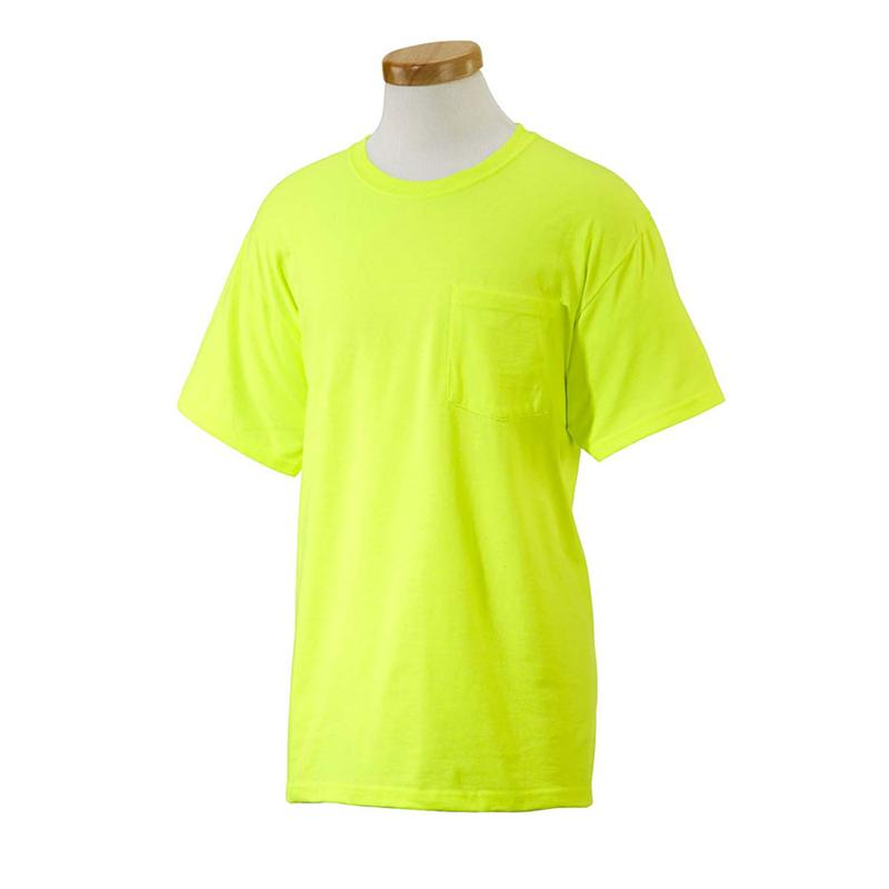fruit of the loom pocket t shirts green fruit with seeds