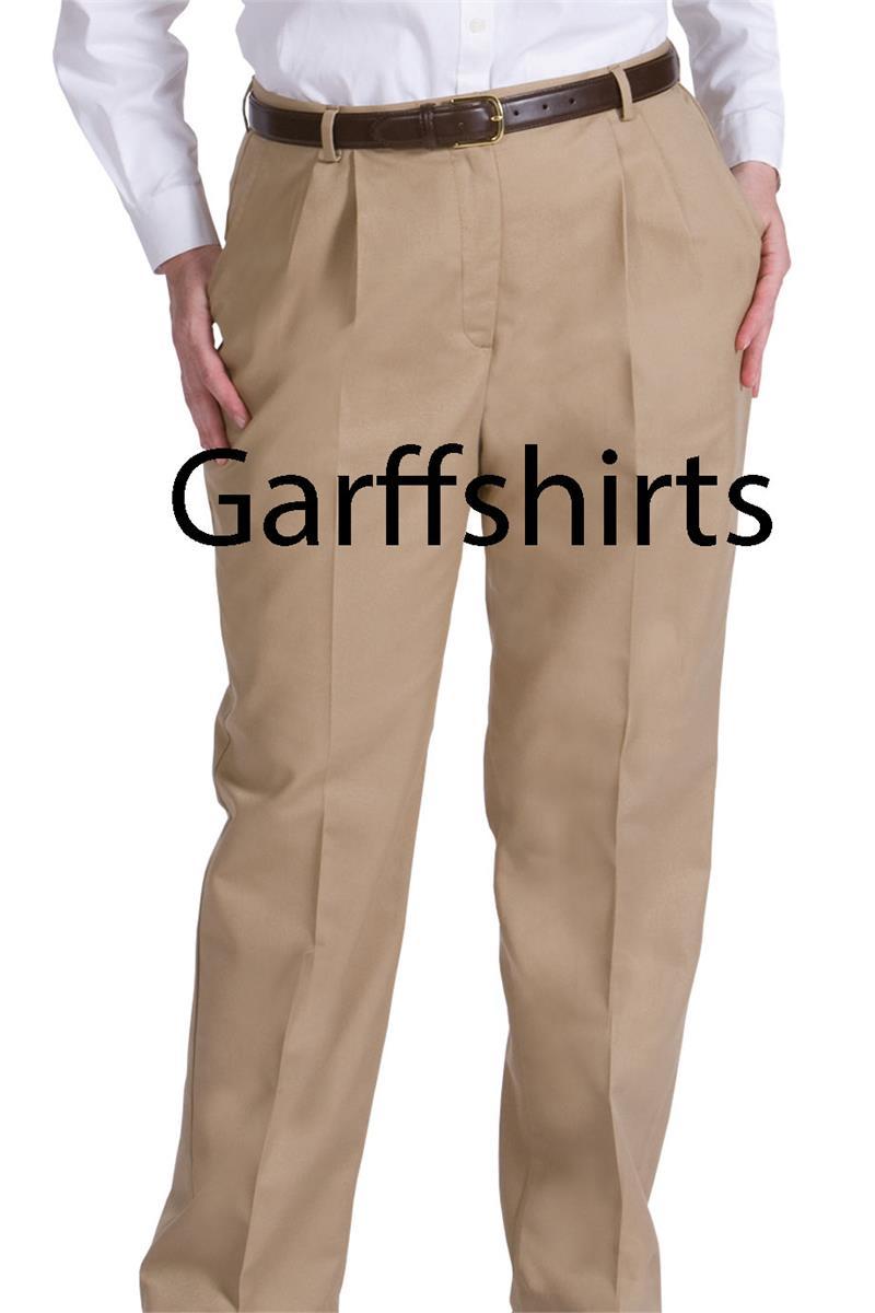 Khaki Uniform Pants For Women