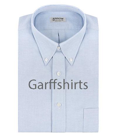 arrow regular fit oxford button down collar dress shirts