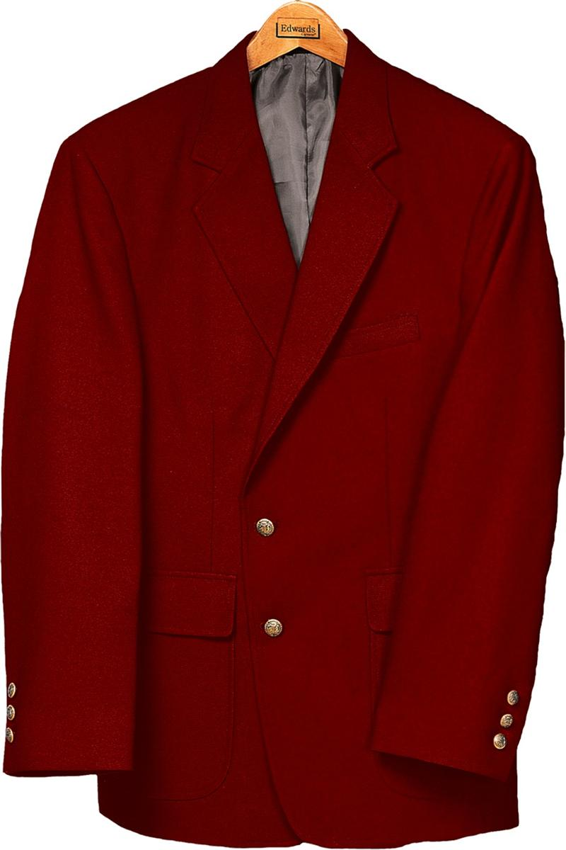 Red Sports Jacket Blazer - JacketIn