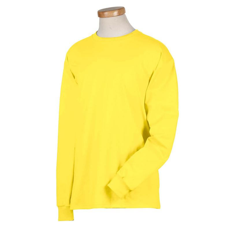 Yellow Long Sleeve T Shirt Artee Shirt
