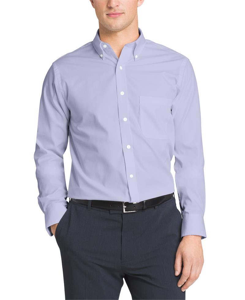 van heusen regular fit pinpoint dress shirts 20f7793