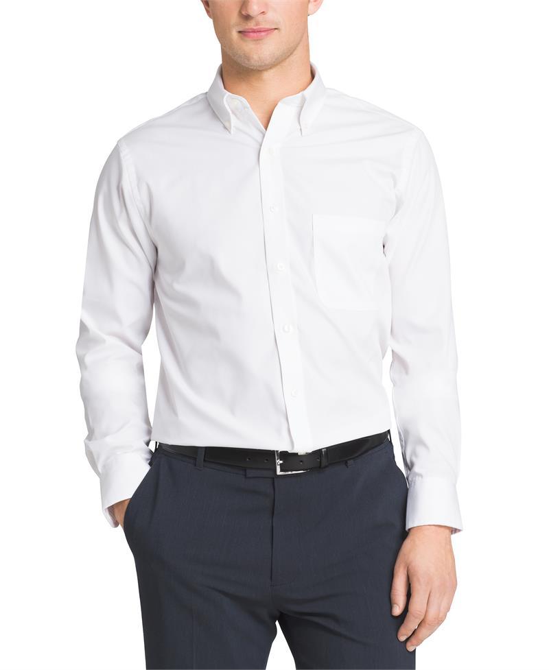 van heusen regular fit pinpoint dress shirts 20f7793