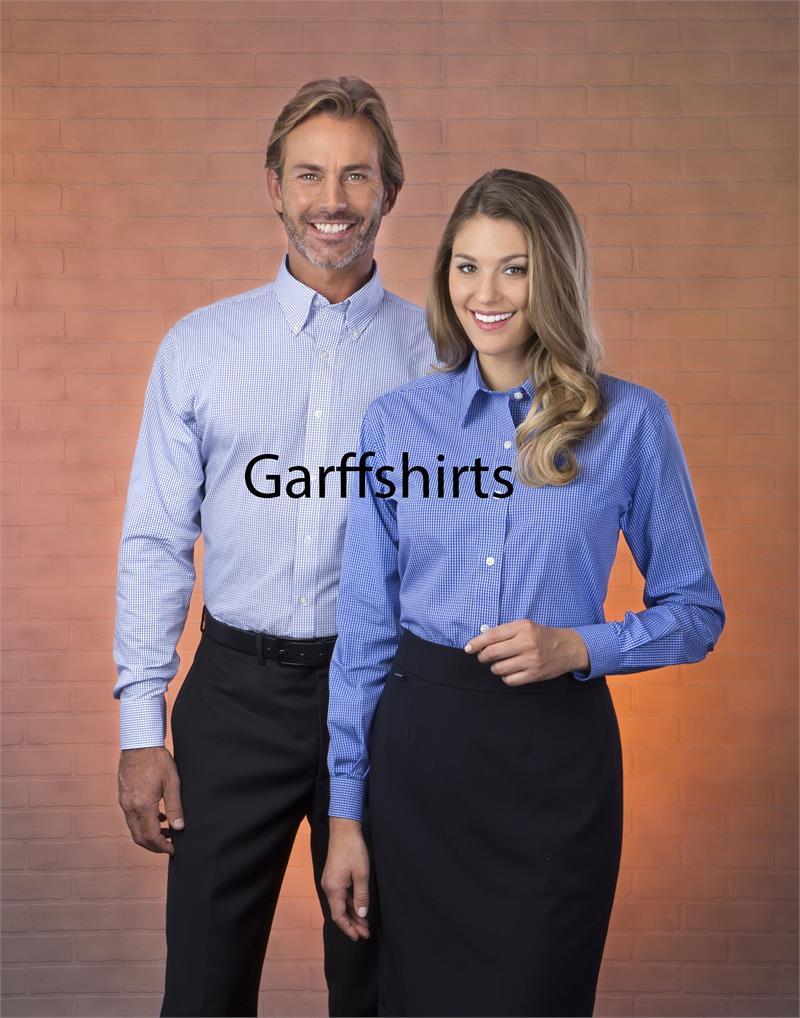 Mens Van Heusen Coolest Comfort Checker Long Sleeve Dress Shirts