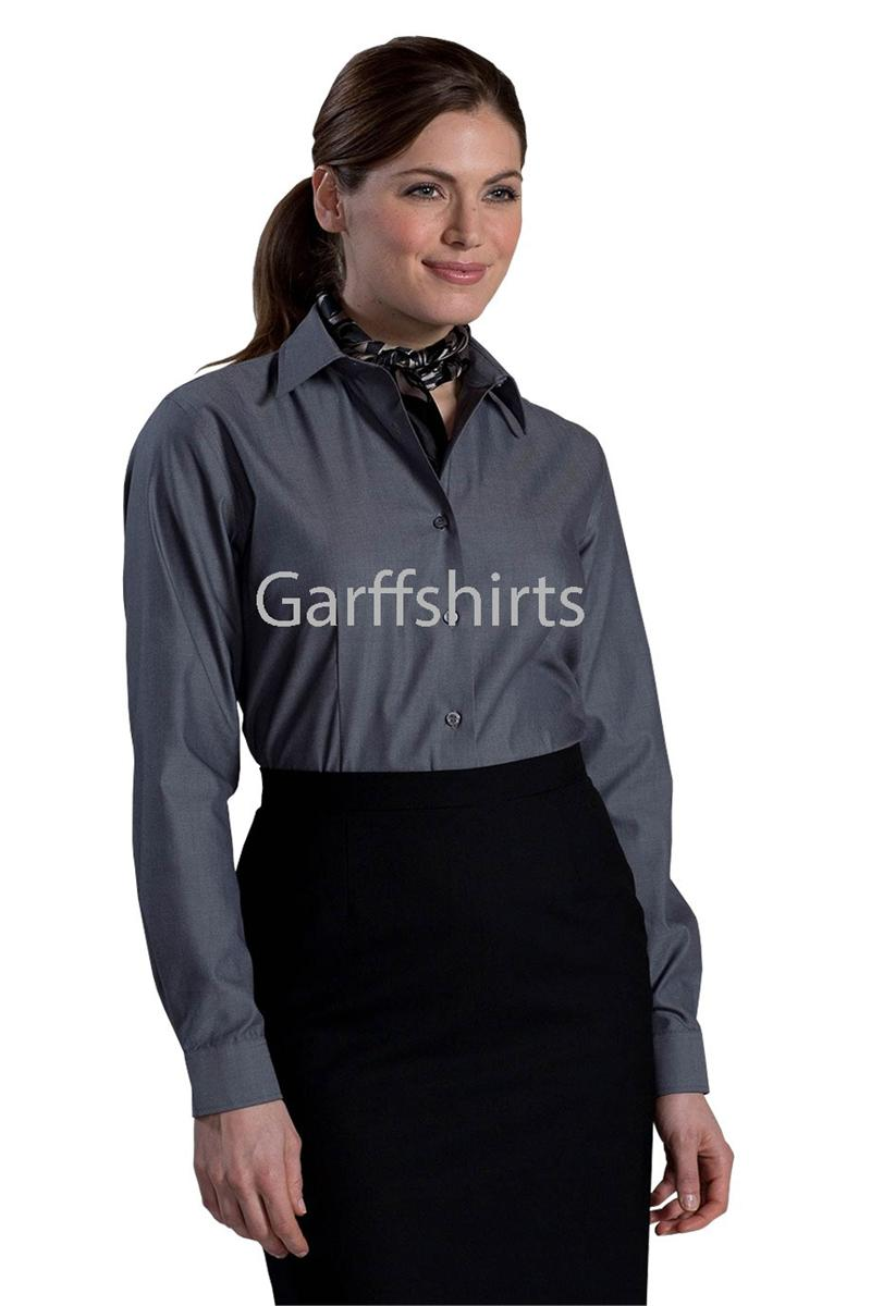 Edwards Garment Womens Non Iron Dress Shirts