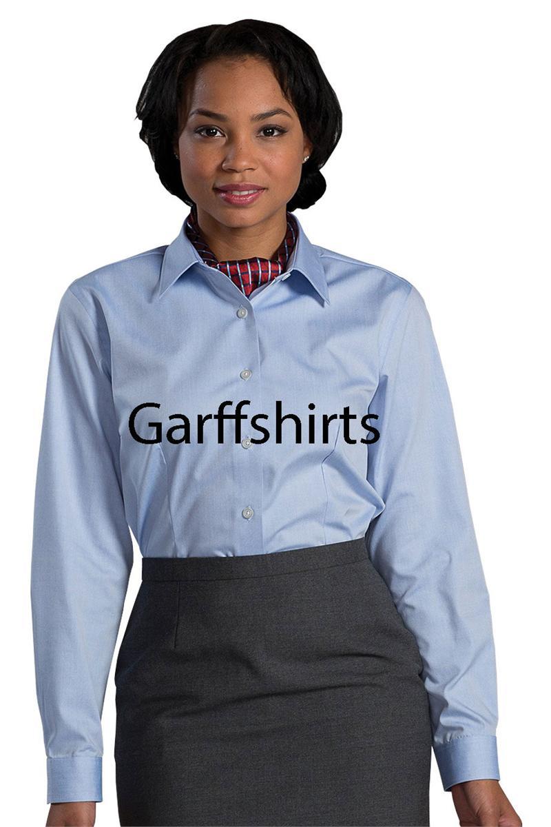 Edwards Garment Womens Non Iron Dress Shirts 5978