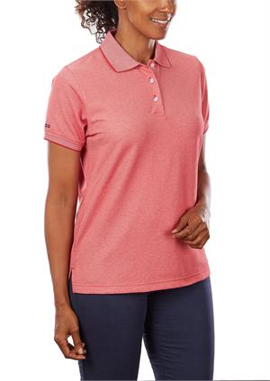 Discount IZOD 13GK462 Womens Natural Stretch Polo Shirts $18.04
