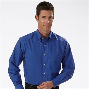 Blue Berry - Van Heusen Men's Varsity Check Long Sleeve Dress Shirts