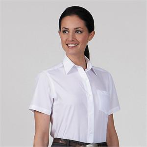 Van Heusen Womens Broadcloth Short Sleeve Dress Shirts - Alpha ...