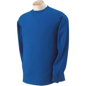 39f4099dbe665f 4930 Fruit of the Loom Royal Blue Long Sleeve T-Shirts 4930 - 5 oz ...