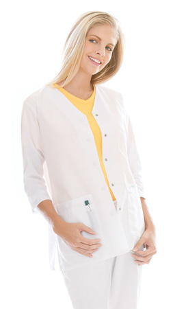 Landau 8401 Landau 8401 3/4 Sleeve Tunic/Jacket