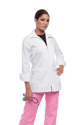 Urbane 9602 Urbane White Lab Coat