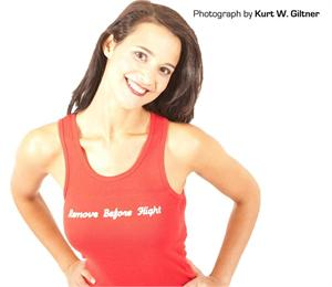 Remove Before Flight Tank Top - Free Shipping - Photo by Kurt Giltner