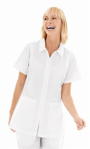 Landau 8058 Landau 8058 Student Tunic - Zipper Closure