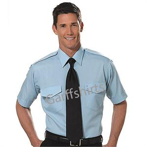 Blue - Tall Pilot Shirts Van Heusen The Aviator TALL Pilot Uniform Shirts aaron richman