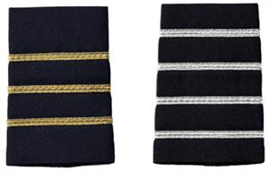 pilot epaulets,pilot stripes,uniform epaulets,Narrow Stripe Epaulets,Shoulder Boards