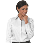 White - 13CK018 Calvin Klein Womens Cotton Stretch Dress Shirts