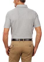 Pistachio IZOD 13GK461 Mens Natural Stretch Polo Shirts