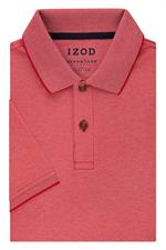Fire Red IZOD 13GK461 Mens Natural Stretch Polo Shirts