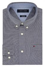 Navy Blazer Blue 13H1861 Tommy Hilfiger Men's Chambray Shirts
