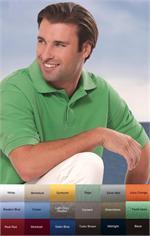 13Z0012 IZOD Mens Silkwash Pique Polo Shirts